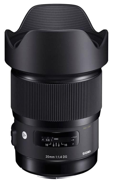 Sigma 20mm F1 4 Dg Hsm foto bantle gmbh sigma 20mm f1 4 dg hsm canon