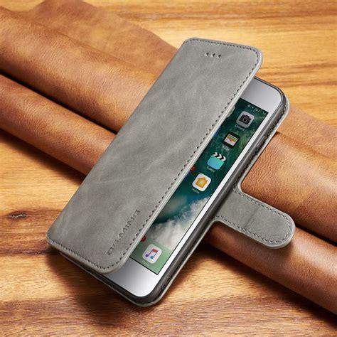 coque iphone  case leather flip cover iphone