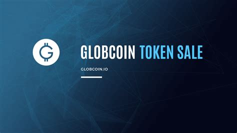 Sale Ready As26 get ready for globcoin s token sale rikitrader