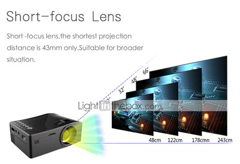 Oem Mini Projector Led White factory oem lcd home theater projector 1080p 1920x1080