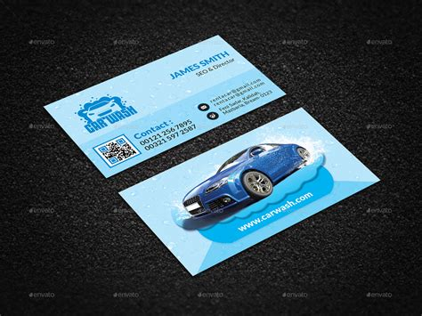 Carwash Business Cards Template by Car Wash Business Cards Business Card Design Inspiration