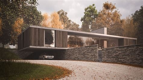 contemporary cantilever house design by paris architects 15 modern homes with cantilevered and overhanging volumes