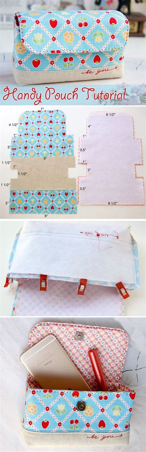 tutorial bìa scrapbook handy pouch bag tutorial all in one handy pouch