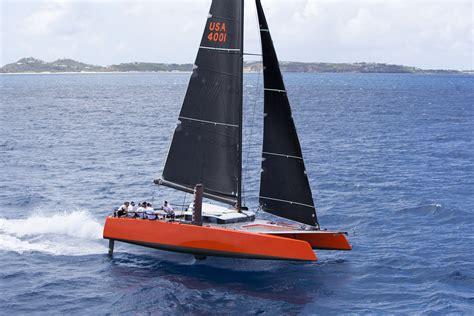 catamaran auction gunboat international sold at auction cruising compass