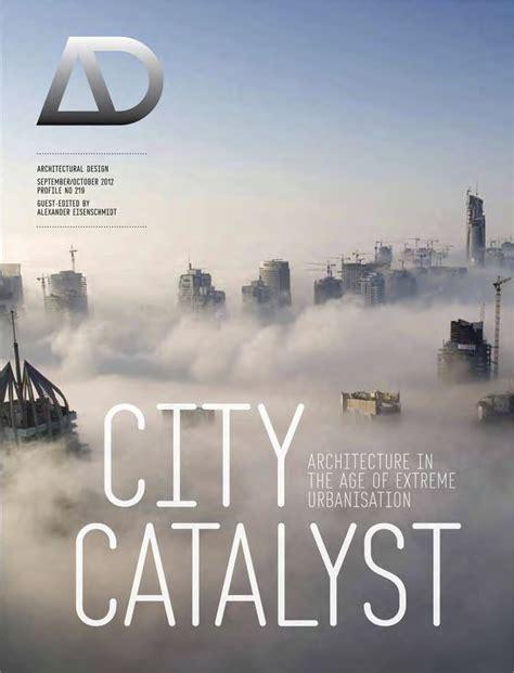 ad architectural design book city catalyst alexander eisenschmidt dipl arch