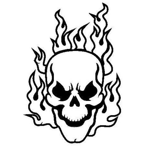 fire skull coloring page pinterest le catalogue d id 233 es