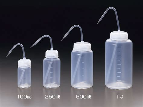 pfa wide wash bottle sanplatec science lab
