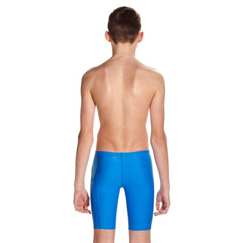 speedo endurance 10 sports logo panel boys swimming