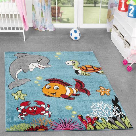 teppich kinderzimmer ikea kinderzimmer teppich unterwasserwelt kurzflor in t 252 rkis