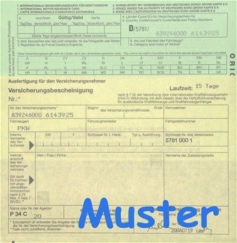 Kfz Versicherung 5 Tages Kennzeichen by Ausfuhrkennzeichen Kurzzeitkennzeichen