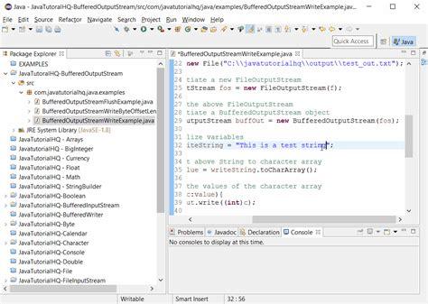 java pattern filename java bufferedoutputstream write int b method exle