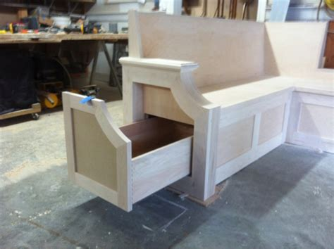 Kitchen bench seat finish carpentry contractor talk