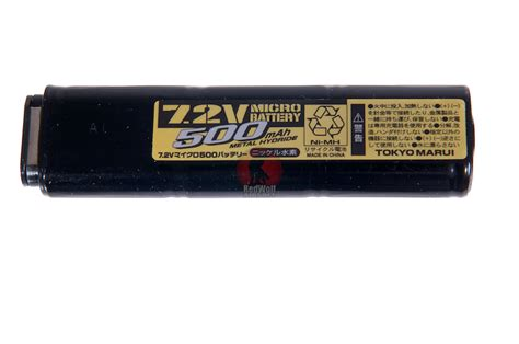 Marui 7 2v 500mah Battery For Electric Fixed Slide Pistols 1 tokyo marui 7 2v 500mah battery nimh tm usb m93r