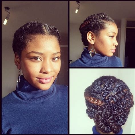 easy vacation hairstyles for black hair natural hair protective styling braids updo perfect