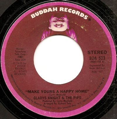 make yours a happy home gladys pips buddah