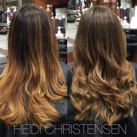 copper brown hair on pinterest color melting hair blonde hair exte balayage ombre color melt from a warm copper to a more