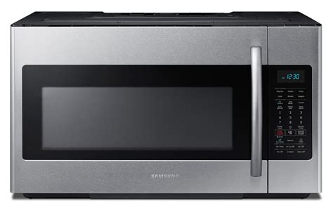 Microwave Oven Samsung samsung the range microwave me18h704sfs ac s