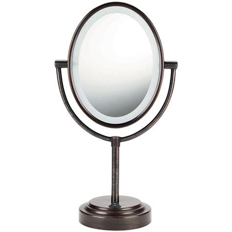 sanheshun 7x magnifying lighted travel makeup mirror the future of cosmetics the lighted makeup mirror