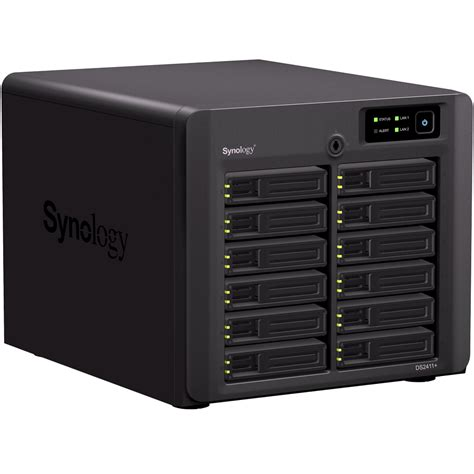 synology intros diskstation ds2411 nas server for smb clients