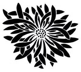 Beautiful Black And White Designs Flower Graphics Beautiful Asian Designs The Graphics Fairy