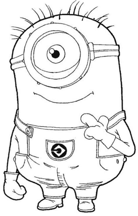 minions kevin coloring pages free coloring pages of kevin the minion
