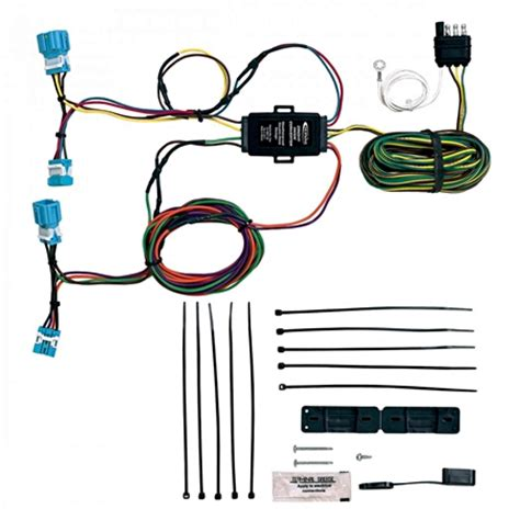 towing solutions 56300 honda towed vehicle wiring kit