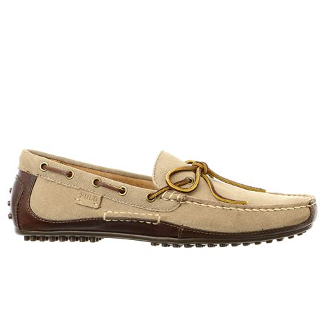 boat shoe loafer polo ralph wyndings moccasin casual loafer slip on