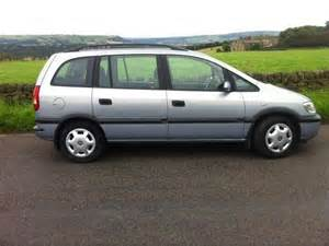 Vauxhall Zafira For Sale Uk Used Vauxhall Zafira 2002 For Sale Uk Autopazar
