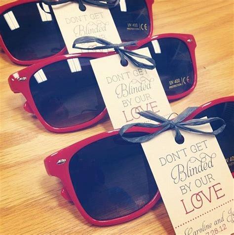 Wedding Favors Sunglasses by Favorite Wedding Favors Ideas