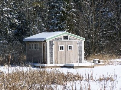 how to turn a storage shed into a house