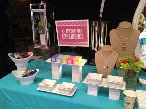 Origami Owl Jewelry Bar Setup -