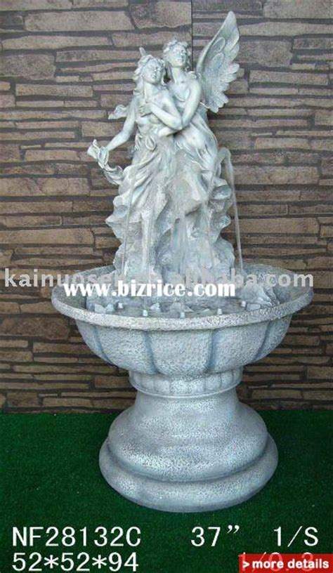 garden decoration resin water fountain rockery fountain