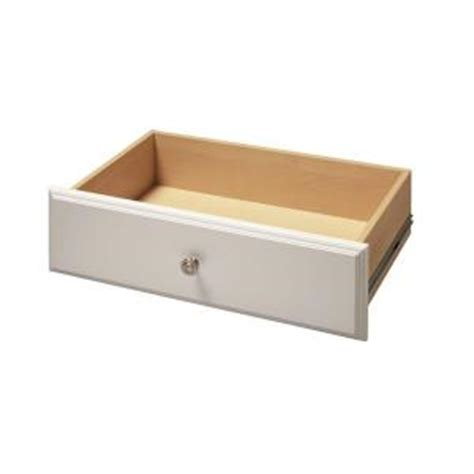 Drawer Kits Home Depot by Martha Stewart Living 8 In X 24 In Classic White Deluxe Drawer Kit W9 The Home Depot