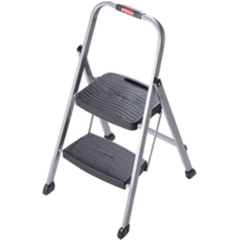 2 step stool walmart rubbermaid folding 2 step steel frame stool with grip