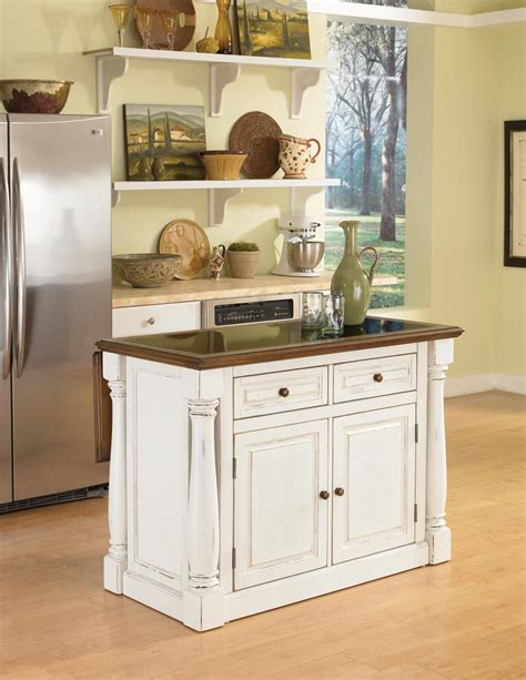 granite top kitchen islands home styles monarch kitchen island with granite top