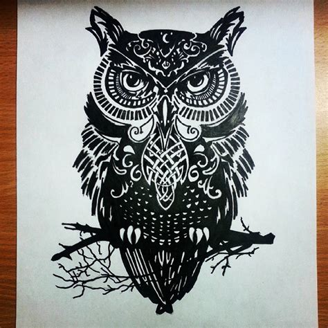mandala animal tattoo tumblr mandala owl drawing on instagram