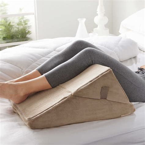 brookstone bed wedge pillow working from bed is the best here s how to get