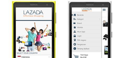Hp Microsoft Lumia Lazada aplikasi resmi quot lazada quot kini hadir untuk nokia lumia windows phone 8