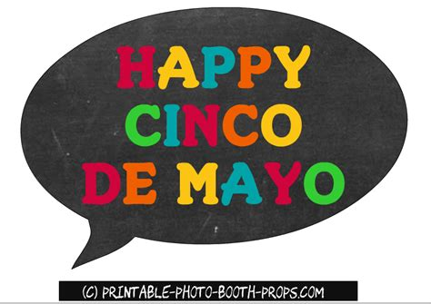 cinco de mayo printable photo booth props free printable mexican photo booth props