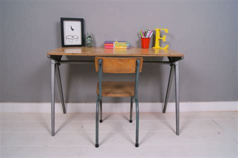 Kid Desks For Sale Children S Esavian School Desk Table Blue Ticking