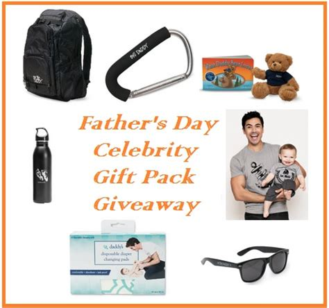 Celebrity Giveaways - daddy co my life as a dad celeb daddy gift pack giveaway ends 06 15 14 it s