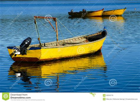 yellow boat yellow boat royalty free stock images image 32534719
