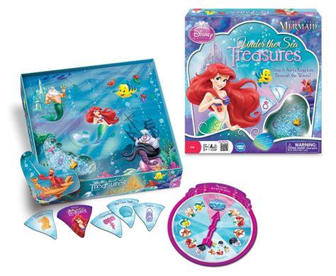 ariel bathtub toy disney games the little mermaid under the sea treasures