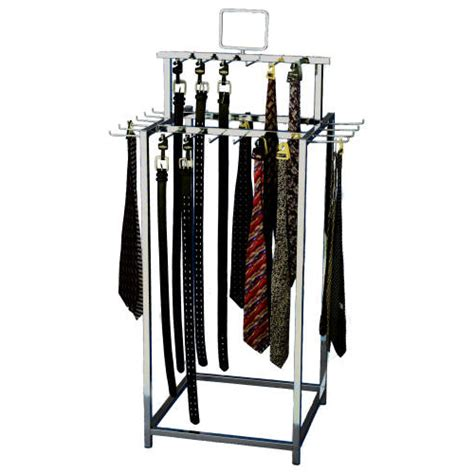 Rack Stand by Belt Tie Island Display Rack Belt Display Rack Island