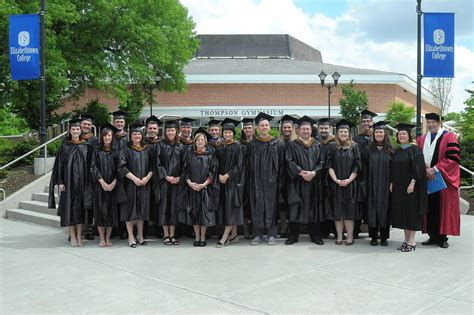 Elizabethtown College Mba by E Town Now Inaugural Masters Of Business Administration