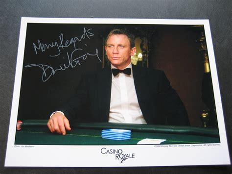 james bond collectibles autographs
