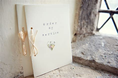 Wedding Ceremony Booklet by 30 Of The Best Ceremony Booklet Ideas Weddingsonline