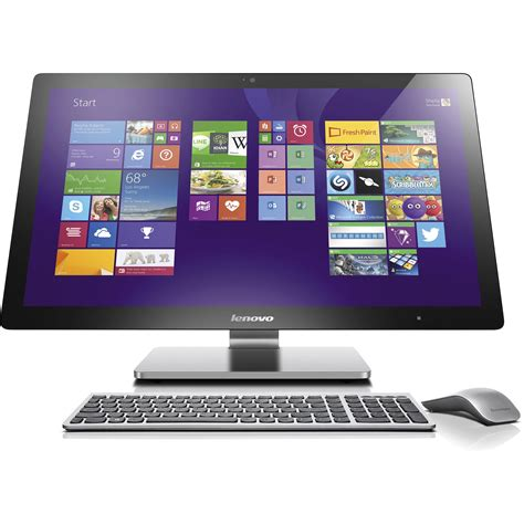 Adaptor Pc All In One Lenovo lenovo 27 quot touchscreen all in one desktop f0am004jus b h