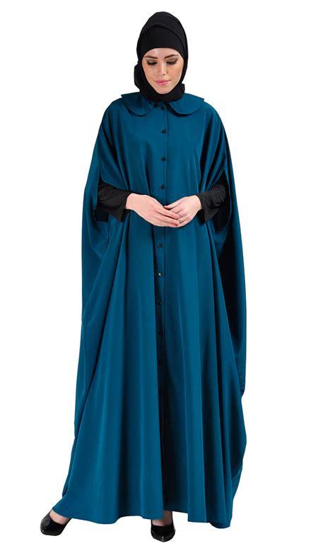 Cape Arab Vs cape jilbab dress teal