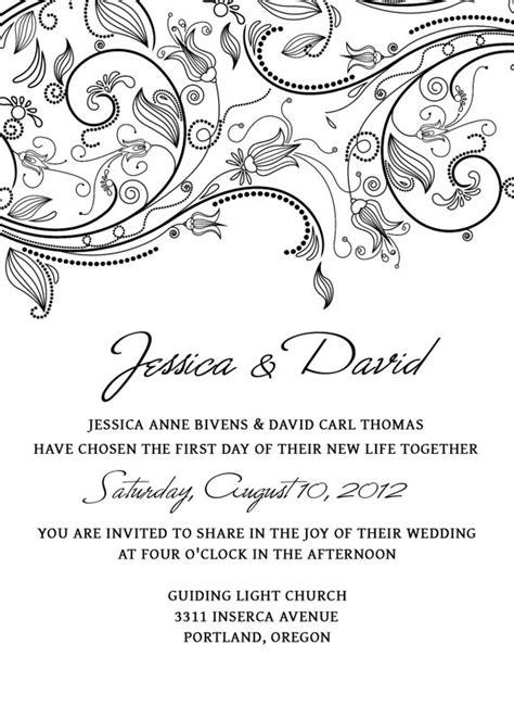 wedding invitation templates free download gangcraft net